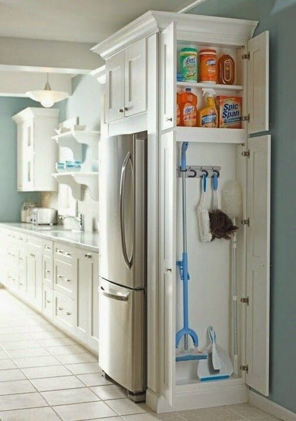 armarios para ahorrar el espacio en cocinas pequeas