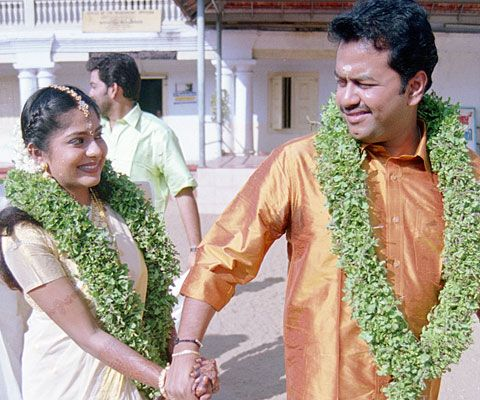 Sameepam Indrajith Married To Poornima Marriage