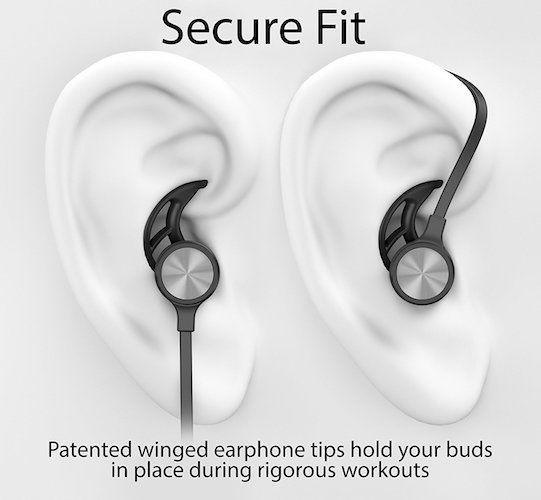 4441201b959 Best Earbuds under 50: Phaiser BHS-730 Bluetooth Headphones Runner Headset  Sport Earphones with Mic and Lifetime Sweatproof Guarantee - Wireless  Earbuds for ...