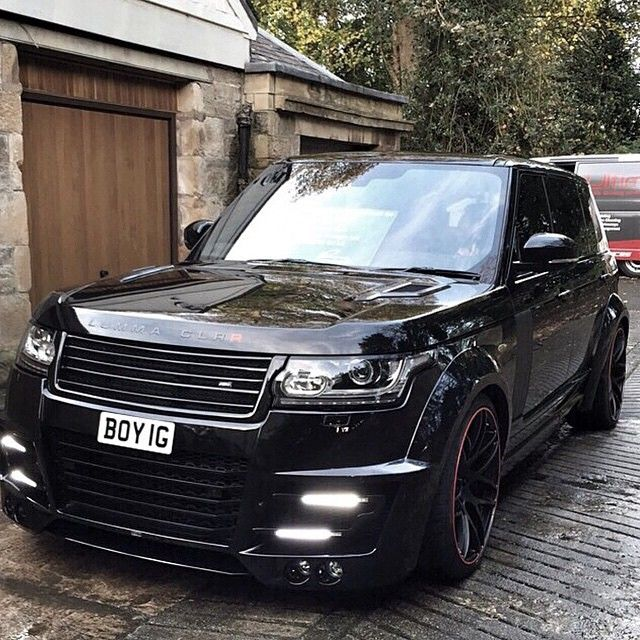 LUMMA CLR R Edition Range Rover