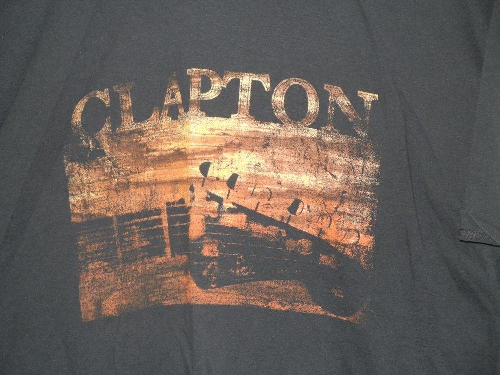 Eric Clapton Slowhand t shirt
