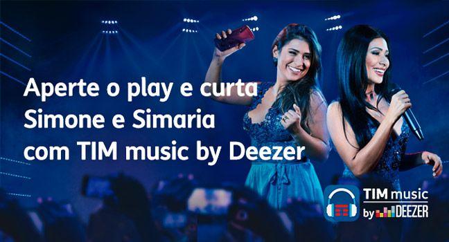 Quer Experimentar O Tim Music By Deezer E So Apertar O Play Play