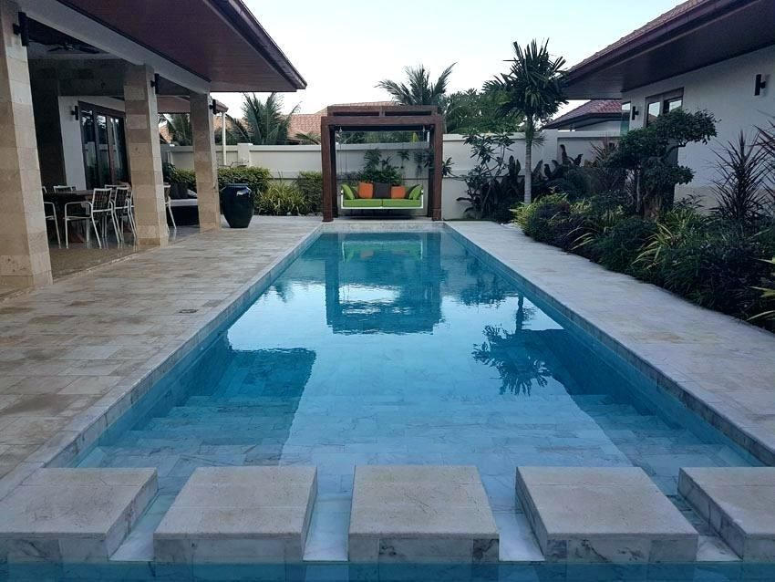 Rectangular Fiberglass Pool Rectangular Pool Sizes Small