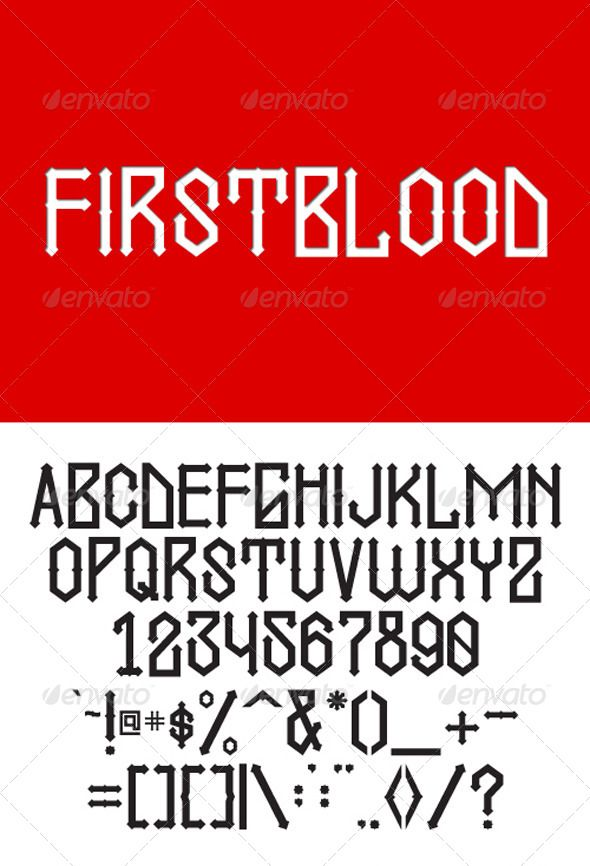 GL Firstblood Is A Modern Blackletter Font With Unique Characteristics Inspired By Cholo Script Tattoo Its Suitable T Shirt Design