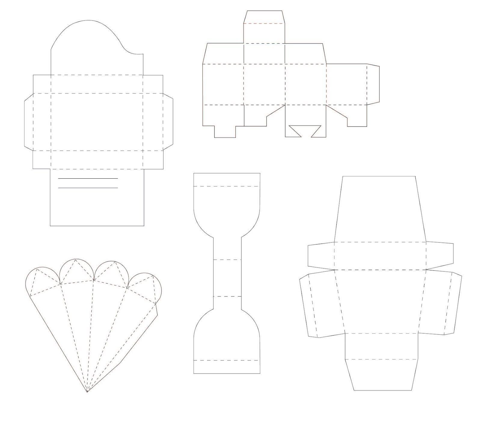 More free box templates kldezign les svg template de bo tes silhouette cameo tutorials - Silhouette cameo vorlagen ...
