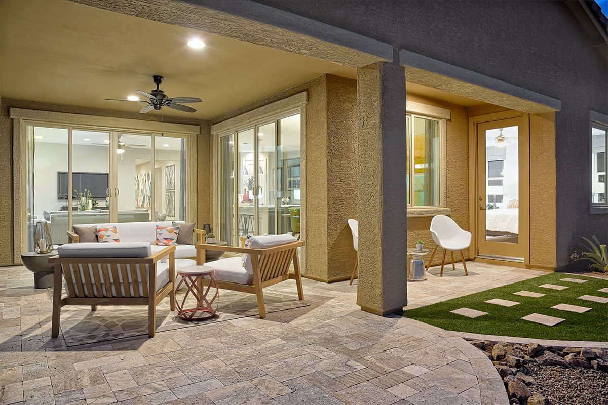 Designed for peaceful desert nights augusta model home tucson