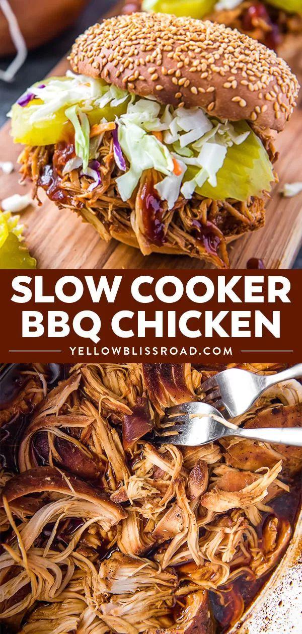 Crockpot BBQ Chicken images