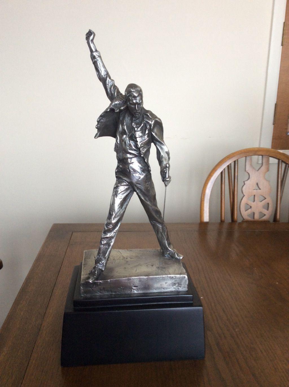 Queen Freddie Mercury Pewter Statue 133 51 Queen Freddie