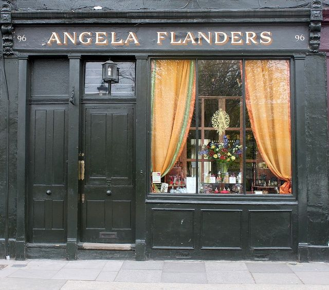 angela flanders (With images) | Shop fronts, Store fronts, Columbia road