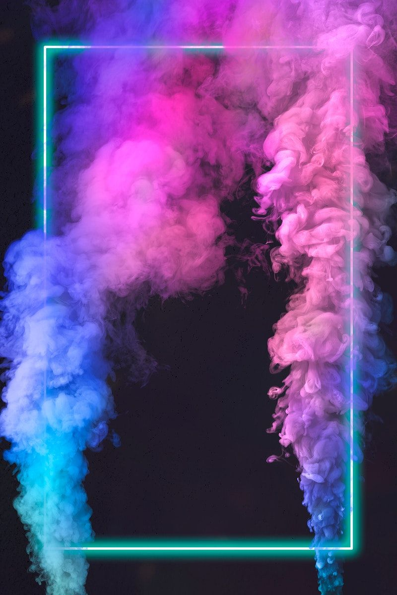 Download premium psd / image of Green neon frame with smoke effect design element on a black background by PLOYPLOY about neon smoke, neon frames, Neon pink frame, smoke  background, and smoke frame text space 2433908
