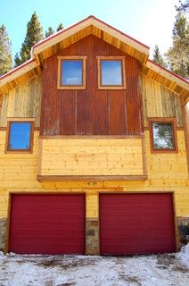 Beetle Kill Siding Renovation Breckenridge Co Traditional Exterior Denver By Great Divide Builders Traditional Exterior