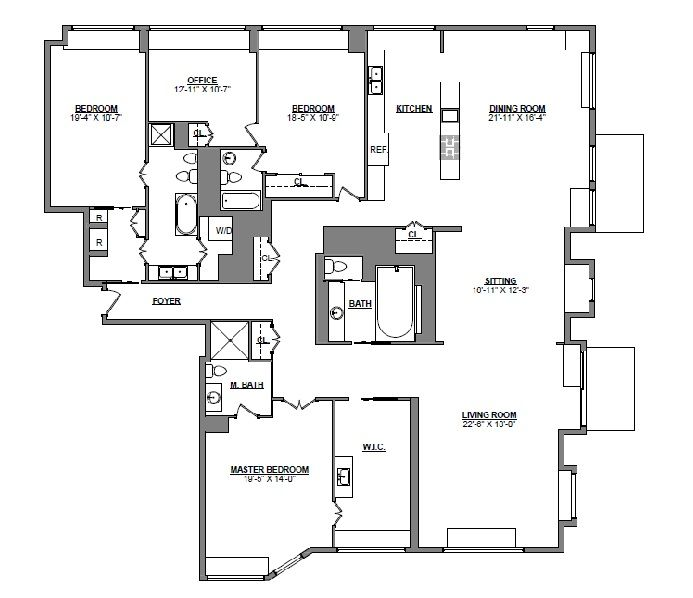 Most Of Lincoln Square S Medieval Co Op Available For Rent House Plans Lincoln Square Floor Plans