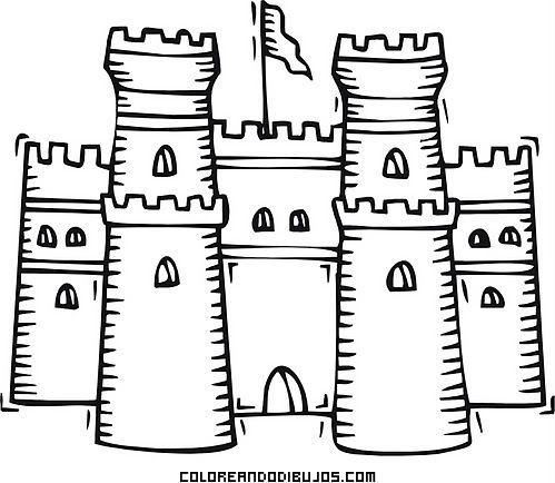 Castillo medieval fcil  castillos  Pinterest  Medieval