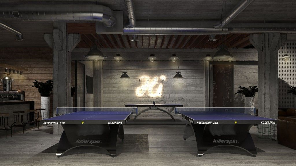 Admirable Revolution Ping Pong Tables In The Home Office Club Download Free Architecture Designs Intelgarnamadebymaigaardcom