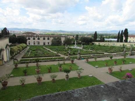 Villa Medici at Castello, a perfect example of Renaissance