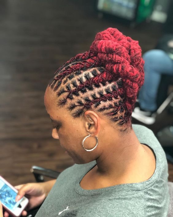 Sophisticated Hairstyles For The Ladies In 2020 Short Locs Hairstyles Locs Hairstyles Hair Styles