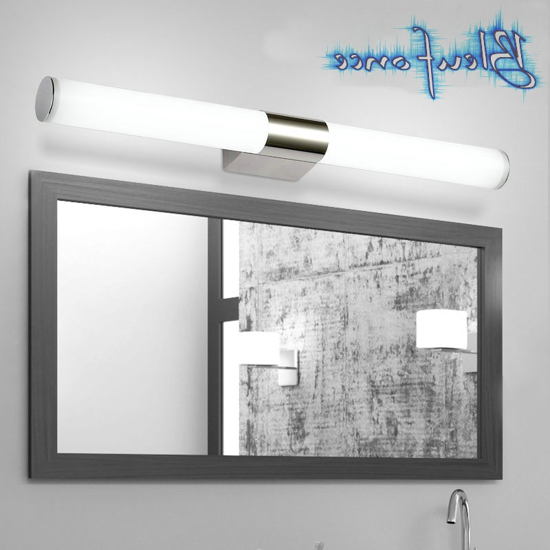 35.00$  Watch now - http://alifl8.worldwells.pw/go.php?t=32718365715 - LED Mirror Lights Bedroom Minimalist Modern Stainless Steel Bathroom Cabinet Mirror Lights Indoor Sconce Wall Lamp Makeup Lamps 35.00$