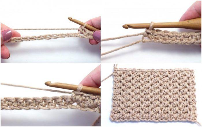 Alternating Spike Stitch Crochet Tutorial en 2018 | Ganchillo ropa ...