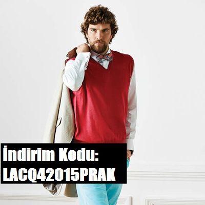 Lacoste 2. ürüne %15 indirim sağlayan kupon Kaynak: http://indirimkodu.com/promosyon-kodu/lacoste-indirim-kuponlari/