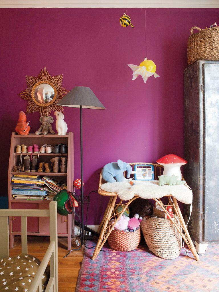 bazar chic pour cet appartement parisien chambres b b. Black Bedroom Furniture Sets. Home Design Ideas