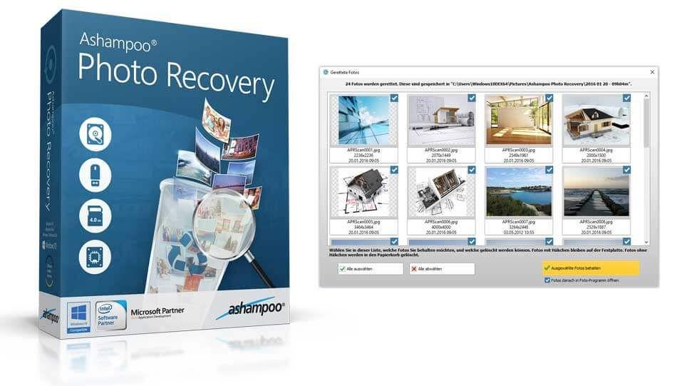 تحميل برنامج استرجاع الصور المحذوفة بعد الفورمات Ashampoo Photo Recovery Photo Baseball Cards Cards