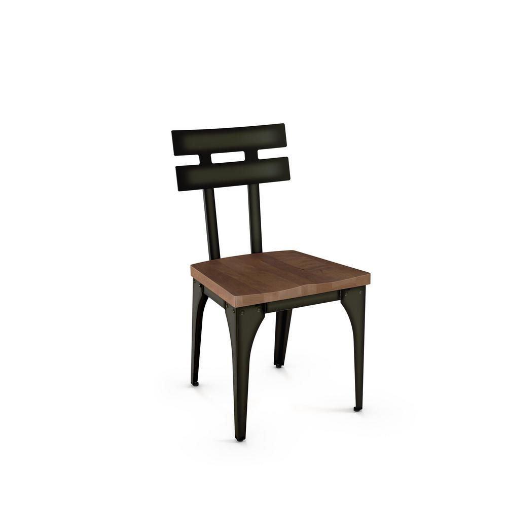 Excellent Rawdon Semi Trans Finish With Brown Wood Seat Dining Chair Bralicious Painted Fabric Chair Ideas Braliciousco