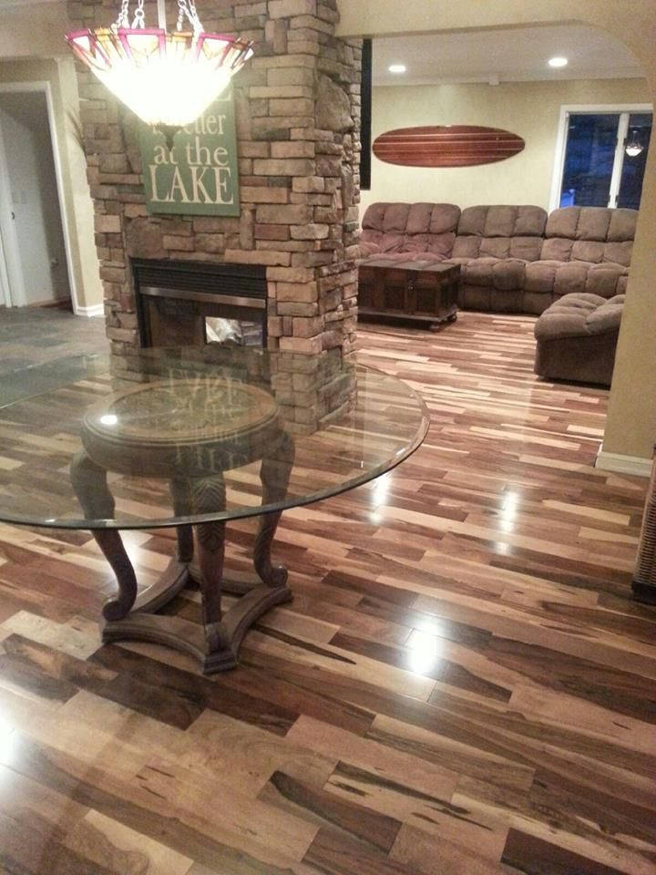 What A Transformation Hardwoods Can Make Brazilian Pecan Installed By Progressive Builders Group Llc In Flint Michigan