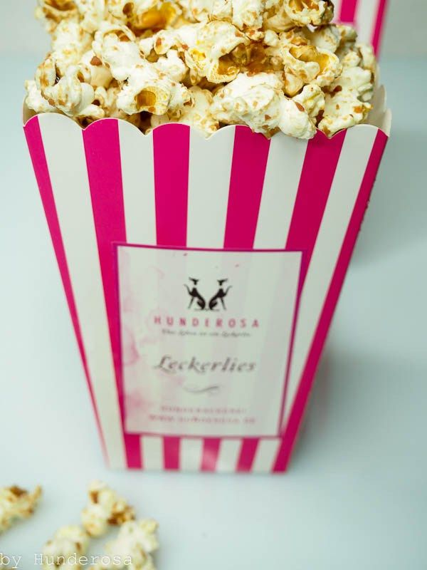 hundepopcorn selber machen leberwurst popcorn f r hunde dog popcorn diy dog treats. Black Bedroom Furniture Sets. Home Design Ideas