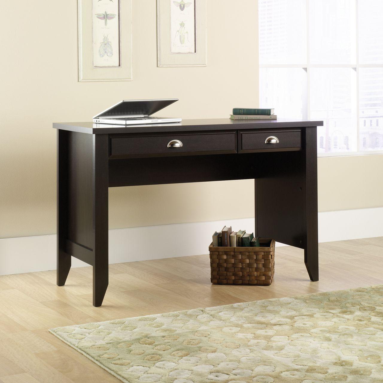 Sauder Shoal Creek Desk in Jamocha Wood Finish (25SD