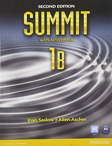 Summit 1b Split Student Book With Activebook And Workbook And