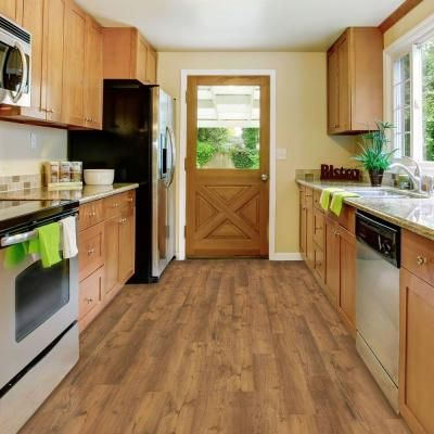 Trafficmaster Allure Contract 6 In X 36 In Barnwood