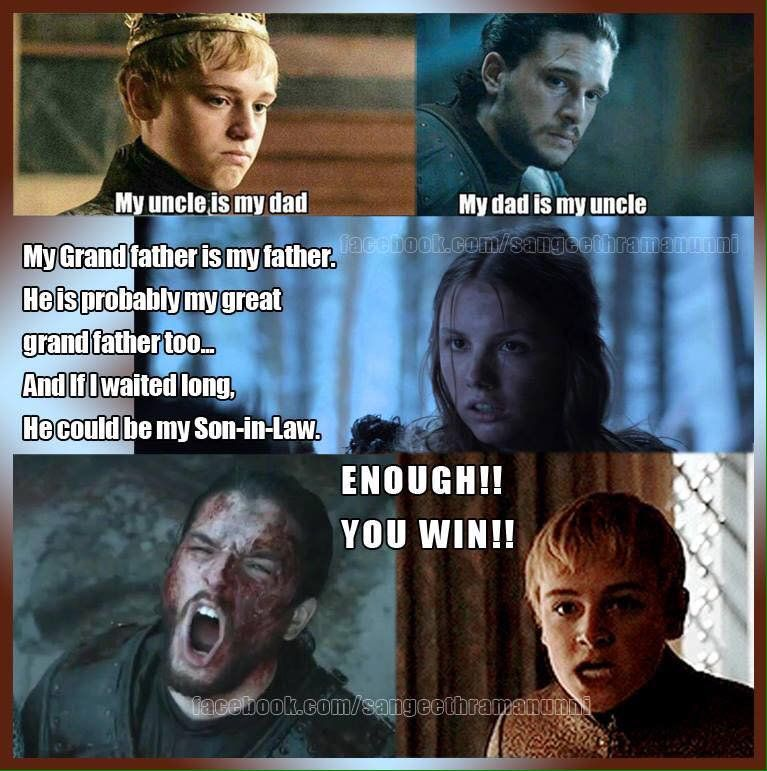 Game of Thrones Meme (@Thrones_Memes) on Twitter #gameofthrones