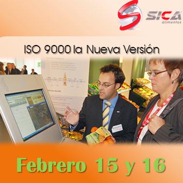 Incubadora SICA Alimentos les invitan al curso ISO 9000 la Nueva Versión, para conocer los cambios en la norma base del sistema ISO http://www.sica-alimentos.net/#!iso-9000-la-nueva-version/c20ru