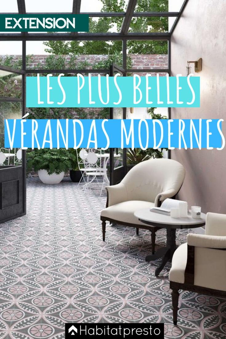 Véranda moderne : 5 exemples de pièces contemporaines & design en 2020 | Veranda moderne ...