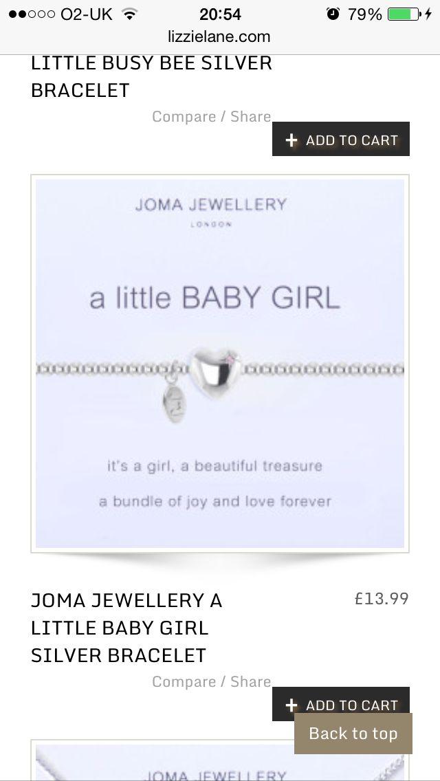 9147d51b9d Baby girl joma jewellery | Jewellery i like | Jewelry, Baby