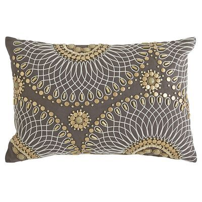 Incredible Beaded Geo Lumbar Pillow Pier One 35 Pillows Onthecornerstone Fun Painted Chair Ideas Images Onthecornerstoneorg