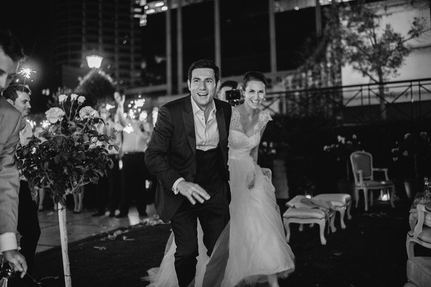 Sparkler Exit Photography by Claire Morgan