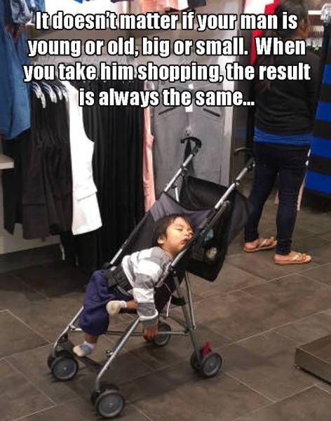 men vs shopping