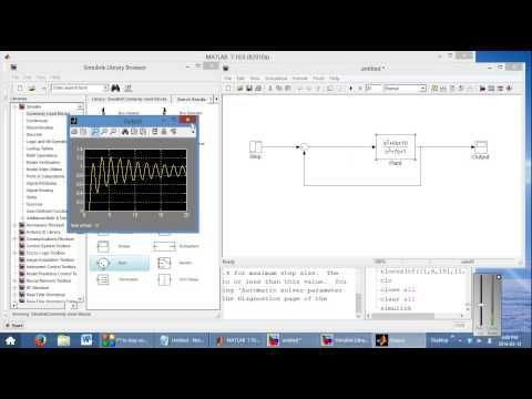 Simulink Introduction (Control Systems Focus and PID