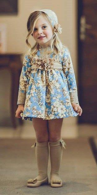 475ed6373 LA ORMIGA FW 17 18 Vestidos Para Niñas