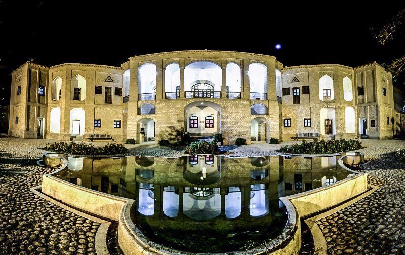 Akbarieh Mansion Of Birjand Persian Garden Iranian Architecture Persian Architecture
