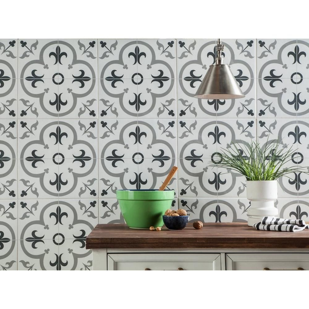florentina gray ceramic tile grey