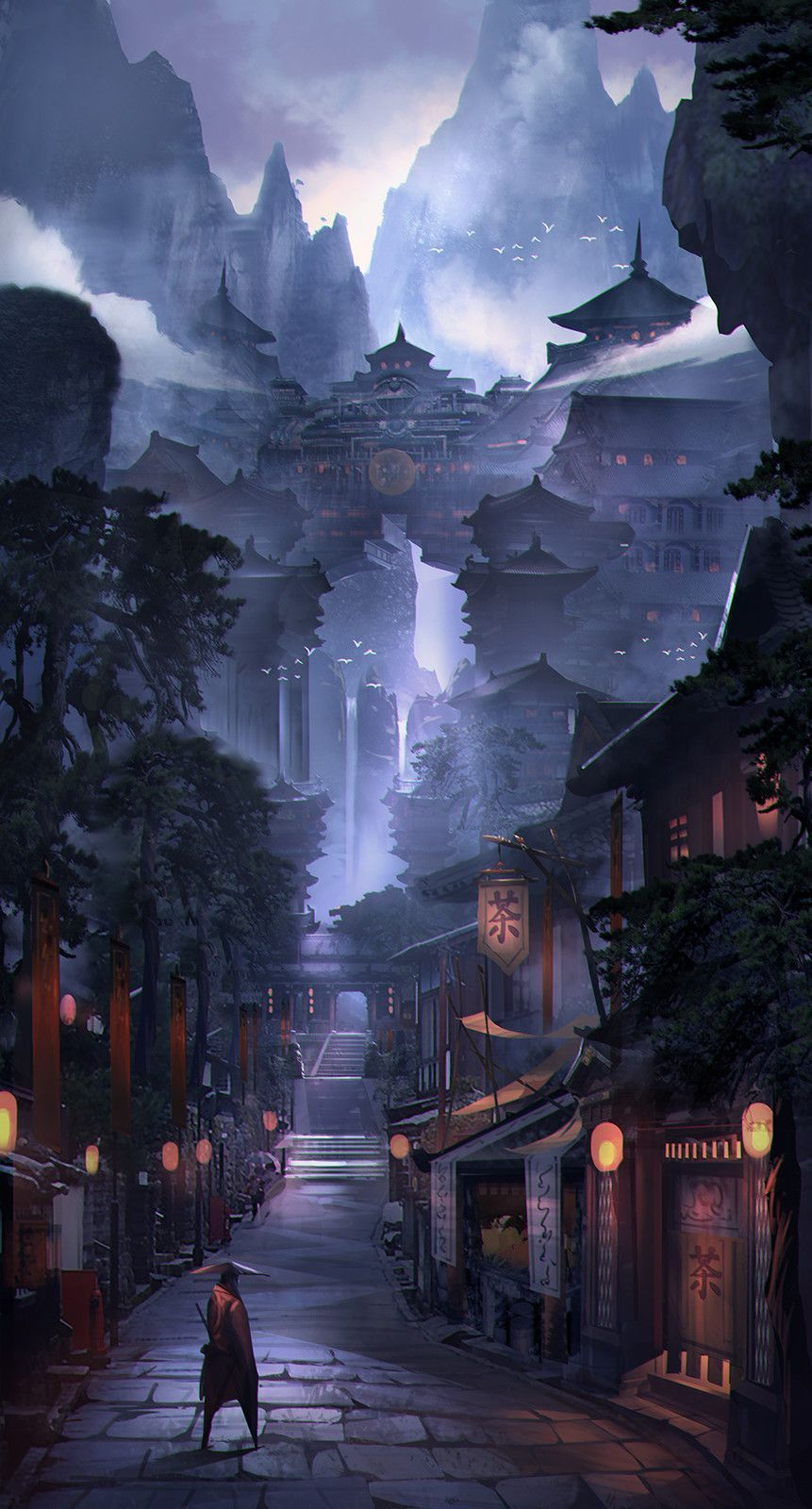 Photo of 2 Wencheng Y on ArtStation at www.artst  | Android Wallpaper  #android #artst #