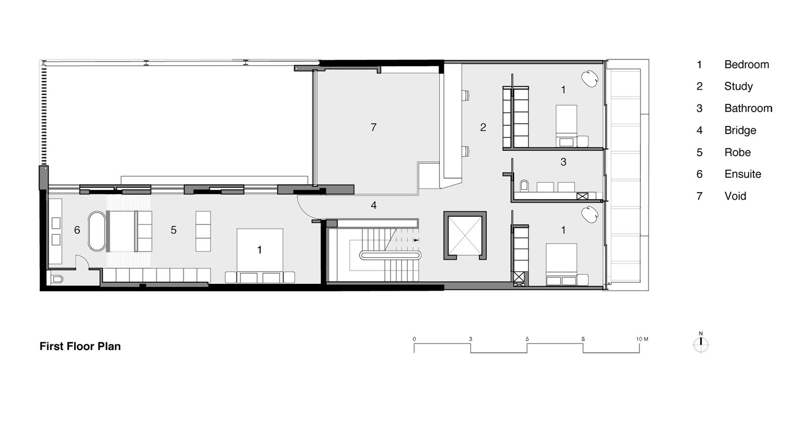 Gallery Of W House Mck Architects 25 Floor Plans House Floor Plans House