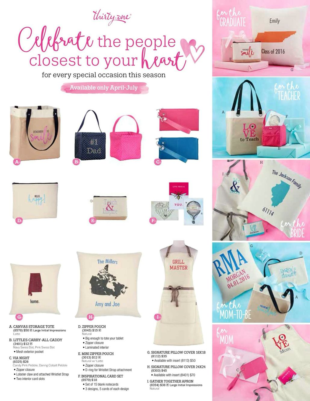 awesome ideas for graduation gifts from thirty one gifts 1 31 spring gift guide thirty one gifts 2016