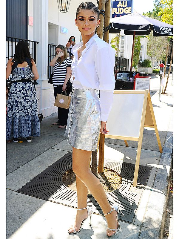 "Zendaya Embraces Her Height in Sky-High Stilettos: See Her Head-Turning '6'2"" with Heels' Outfit! http://ift.tt/1pmY5WN #PeopleStyleWatch #Fashion #Style #CelebrityStyle #Celebs #Celebrities"