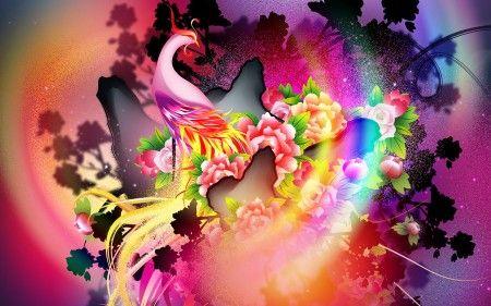 Un fractal de muchos colores