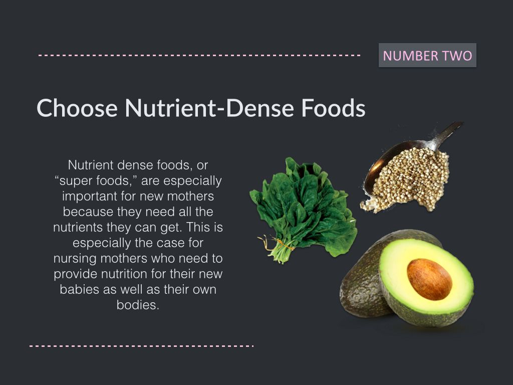 Choose Super Foods Tips For How To Shed Post Pregnancy Pounds