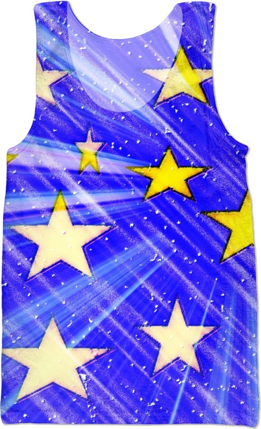 95857c2ba0b39 All The Stars In The Sky Custom Tank Top by S4
