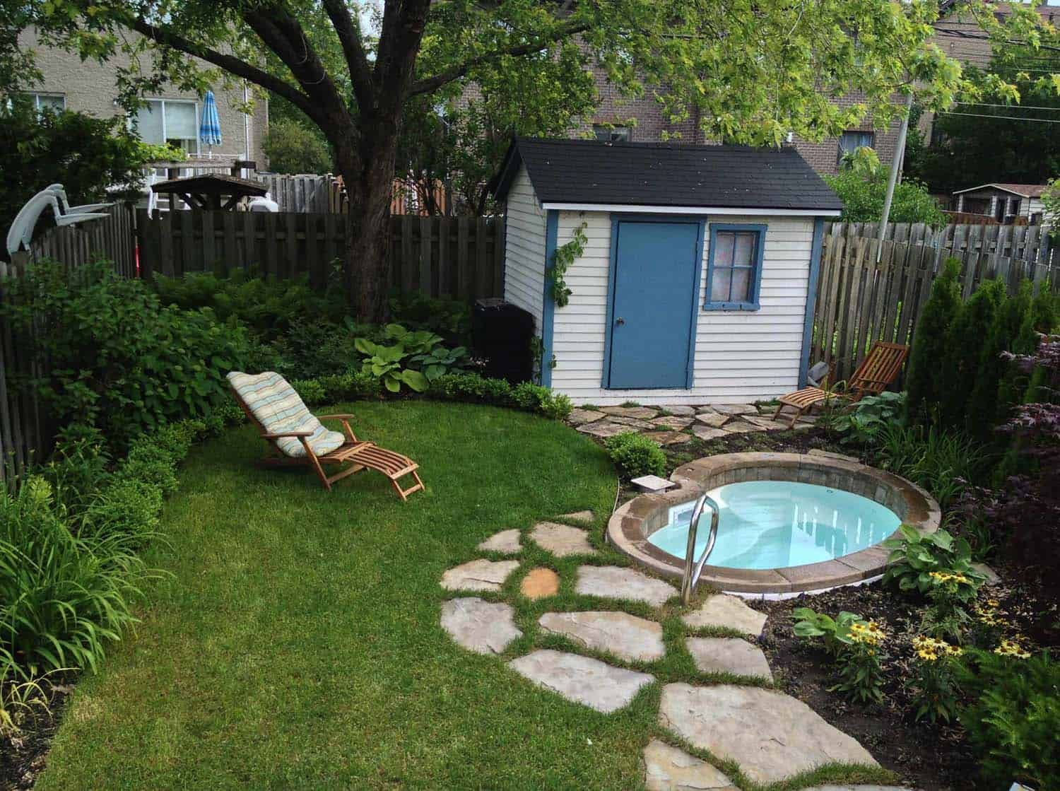 40 Outstanding Hot Tub Ideas To Create A Backyard Oasis Small